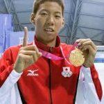 【渡辺一平水泳の強さの裏には?!】彼女はいる?家族(父、母、姉)と生い立ち・リオオリンピックメダル